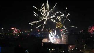Yulin (Shaanxi) China  City pictures : Chinese New Year Fireworks, Yulin, Shaanxi Province, Year of the Dragon (Jan, 2012)