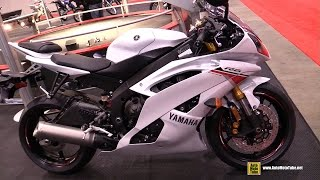 8. 2015 Yamaha YZF-R6 - Walkaround - 2015 Toronto Motorcycle Show