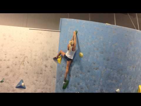 "Sierra Blair-coyle Climbing Sierra Blair-coyle Sending """