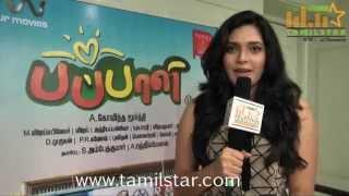 Ishara at Pappali Movie Team Interview