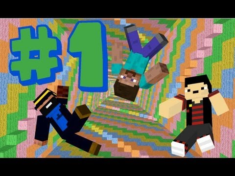 Minecraft Custom Map: The Dropper- del 1