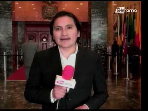 Canciller detalló en la asamblea retiro del asilo a Julian Assange