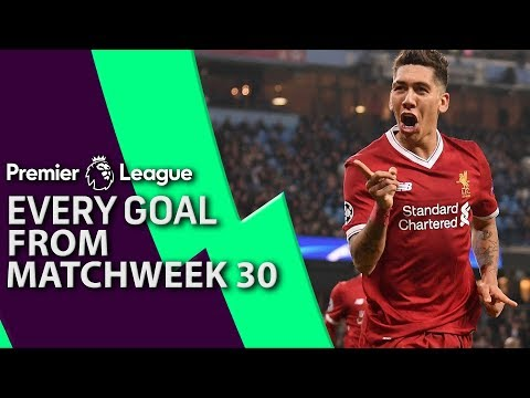 Every goal from Matchday 30 in the Premier League | NBC Sports