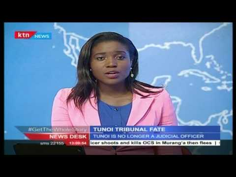 Newsdesk 27th June 2016 - Tunoi probe tribunal fate
