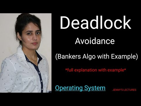 Deadlock Avoidance: Banker's Algorithm with example   Operating System