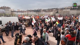 Manifestation contre la réforme du travail Lyon