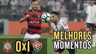 Melhores momentos Corinthians 0 x 1 Vitória - Brasileirão 2017