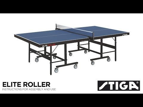Stiga Elite Roller CCS Advance Indoor Table Tennis Table Assembly
