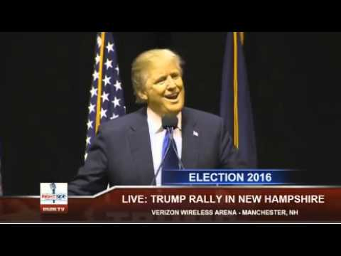 Donald Trump reacts to audience member calling Ted Cruz a 'pussy'