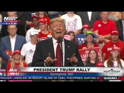 FULL RALLY: President Trump #MAGA rally in Springfield, Missouri (FNN)