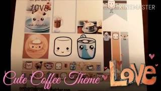 """Thanks for watching 💟 please subscribeWelcome to ( Plan With Iman ) This week spread is called """" Cute Coffee """" Using free printable stickers. These are not made by me and they are for personal use only. They are found in Pintrest. Link to all stickers I used here in my Facebook page:https://m.facebook.com/story.php?story_fbid=1212527452141959&id=828655540529154Happy Planning 🙆☕😉"""