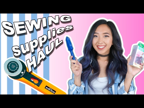 TRYING OUT SEWING SUPPLIES | coolirpa