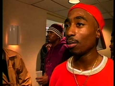 Tupac's Interview After Out On Bail (The Source Hip-Hop Music Awards 25.04.1994) (HQ)