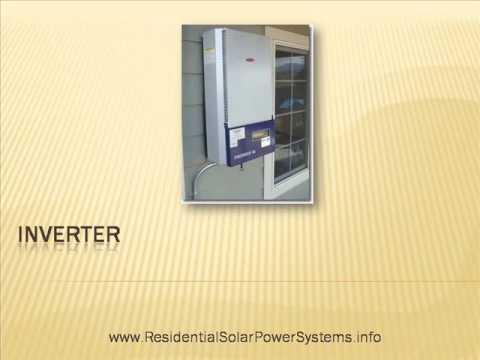 Residential Solar Power Systems: Homemade Solar Panels