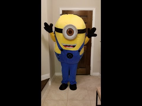 Minion Costume Unboxing