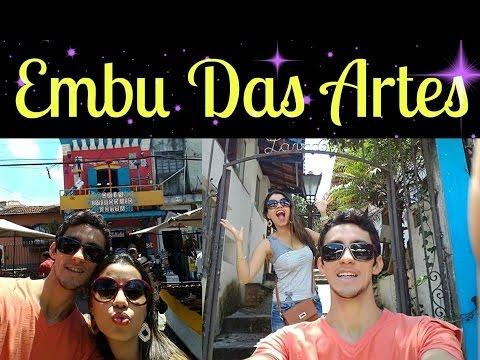 VLOG - Embu Das Artes em São Paulo