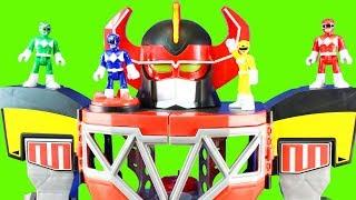 Video Imaginext Power Rangers Morphin Megazord Dragonzord R/C Rita Repulsa Family Kids Toys Set MP3, 3GP, MP4, WEBM, AVI, FLV Maret 2019