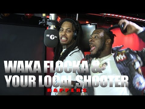 Waka Flocka X Your Local Shooter aka Loudiene – Fire In The Booth