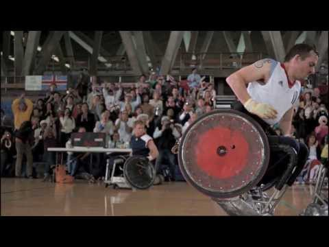 ''Murderball'' - Wheelchair Rugby demo