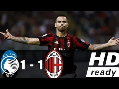 AC Milan vs Atalanta 1-1    All Goals & Highlights    13-05-2018 HD