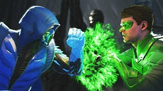 Injustice 2 Same voice actor for both Sub zero vs Green Lantern All intros, clash quotes and supermoves from Injustice 2  Injustice 2 Playlist https://www.youtube.com/playlist?list=PLIHdjqWw8amLejxTrprTd5om6niDsWg4LSUBSCRIBE for daily Injustice 2 content!https://www.youtube.com/user/MaximumGuarded2