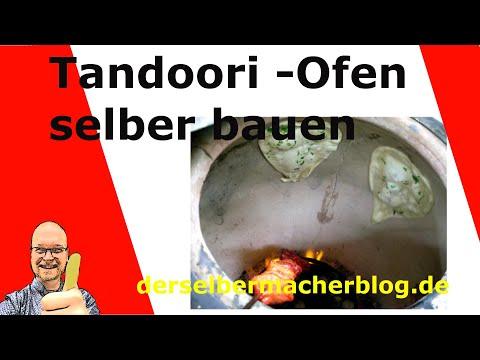 Tandoori Ofen selber bauen