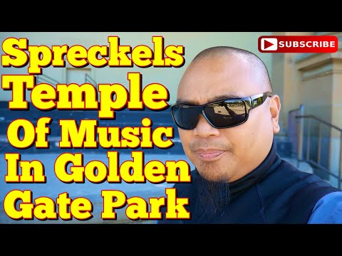 Eric B's Daily Vlogs #496 - Spreckels Temple of Music In Golden Gate Park