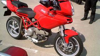 6. 2005 DUCATI Multistrada 1000 DS engine + clutch sounds !!
