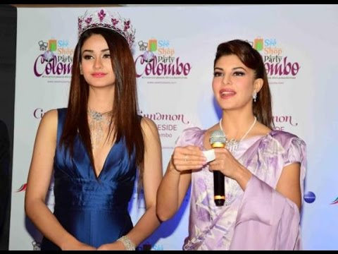 Jacqueline Speech At Cinnamon Hotel & SriLankan Airlines Press Conference