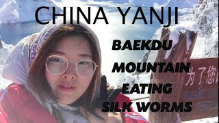 Yanji China  city images : JOURNEYS: YANJI, CHINA Eating Silk Worms, Changbai/Baekdu (백두산) Яньцзи Китай, Гора Пэктусан.