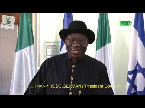 Isreali - President Goodluck Jonathan makes History once again by begin the First Nigerian President to visit the State of Isreal. Among Issues discussed during his tr...