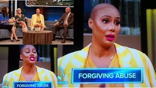 """Video TAMAR BRAXTON talks about VINCE on the STEVE HARVEY SHOW! """"DON'T TOUCH/HIT ME! You are not my DADDY"""" MP3, 3GP, MP4, WEBM, AVI, FLV April 2018"""