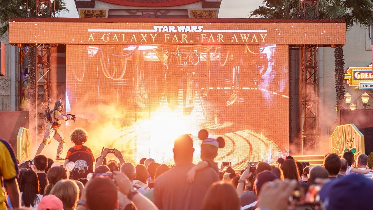 Star Wars - A Galaxy Far, Far, Away stage show with Rogue One