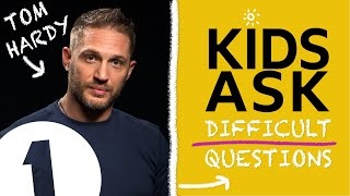 """Video """"What's the naughtiest thing you've ever done?"""":  Kids Ask Tom Hardy Difficult Questions MP3, 3GP, MP4, WEBM, AVI, FLV Oktober 2018"""