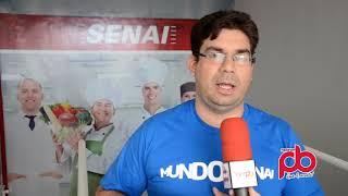 Thiego Brandão fala sobre o mundo senais ocorrido em Sousa