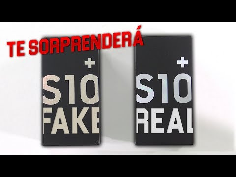 S10+ FAKE vs REAL (Español)