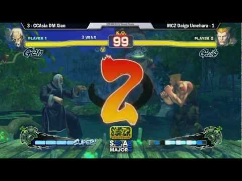 Guile - Alert: The following video is conclusive evidence that Daigo does not watch Cross Counter: Asia's Excellent Adventures. Team Madcatz Daigo
