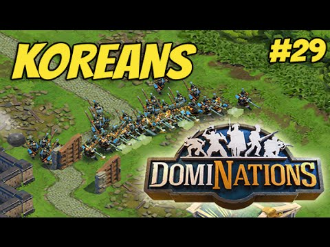 DomiNations Part 29 - Koreans (iOS/Android Gameplay)