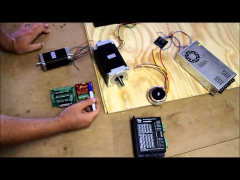 How to Connect up a CNC Machine