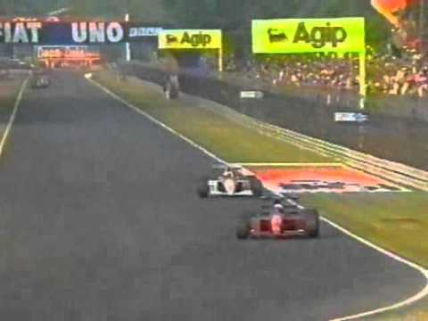 ayrton senna vs alain prost - italian grand prix 1991