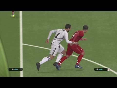 PES 2019-JUVENTUS VS LIVERPOOL GAMEPLAY  NEW