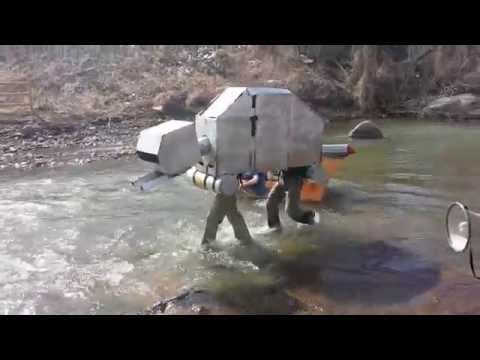 Mines 2014 Cardboard 'boat' race