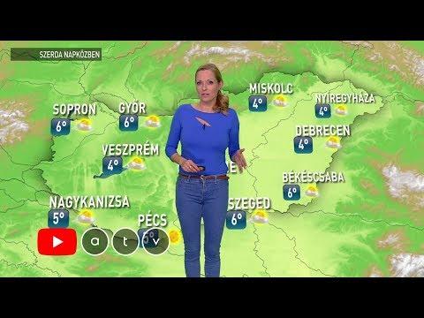 ATV időjárás-jelentés 2018.12.05._Időjárás. Vihar, jégeső, tornádó, áradás videók. Csodás felvételek szupercellákról, zivatarokról