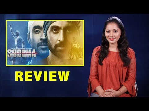 Soorma Movie Review By Pankhurie Mulasi | Diljit D