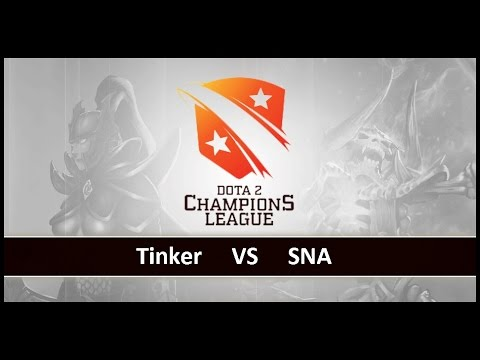 [ Dota2 ] Tinker vs SNA – D2 Champions League S4 – Thai Caster