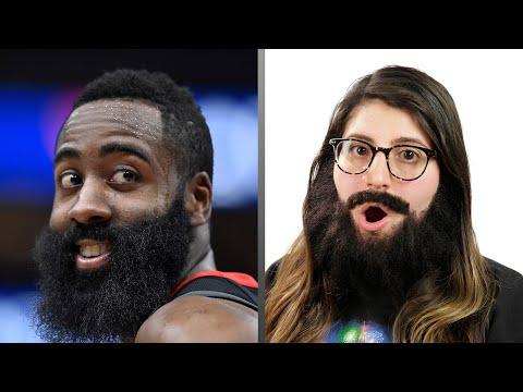 Elämää parran kanssa: People Wear James Harden's Beard For 24 Hours