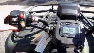 7. 400cc Utility ATV