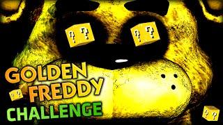 LUCKY BLOCK GOLDEN FREDDY CHALLENGE IN MINECRAFT (Minecraft Mods - Five Nights At Freddy's 2)