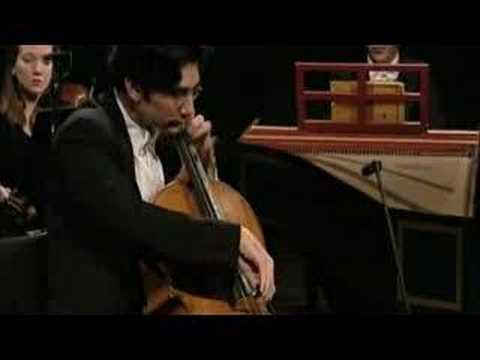 Adorjan - CPE Bach Cello Concerto in a-minor III. Movement: Allegro David Adorjan, Cello Christopher Hogwood, Conductor Bach Collegium München 1999 Prinzregentheater M...