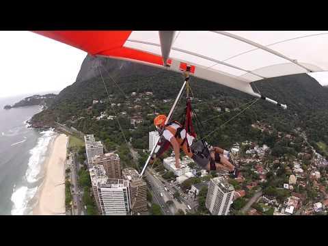 Voo de Asa Delta - Rampa de voo livre - Pedra Bonita - Rio de Janeiro